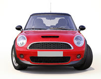 Modern compact car Royalty Free Stock Photo