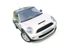 Modern compact car Royalty Free Stock Photography