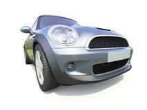 Modern compact car Royalty Free Stock Photos