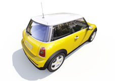 Modern compact city car Royalty Free Stock Photography