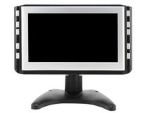 Modern compact TV set Royalty Free Stock Photo