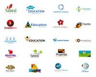 Modern Company Logos Stock Photography