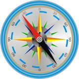 Modern compass Royalty Free Stock Photography