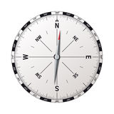 Modern compass vector Stock Photography