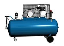 Modern compressor Stock Image