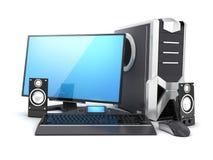 Modern computer Stock Photo
