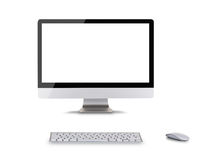 Modern computer display Stock Image