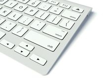 Free Modern Computer Keyboard Royalty Free Stock Photo - 25380025