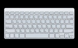 Modern computer keyboard Royalty Free Stock Photography