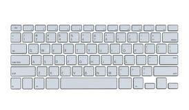 Modern computer keyboard Royalty Free Stock Image
