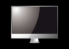 Modern computer monitor Stock Photo