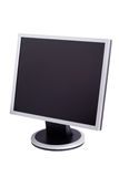 Modern Computer Monitor. Office lcd monitor isolated with clipping path over white background Stock Image