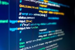 Free Modern Computer Programming Code Stock Images - 113805394