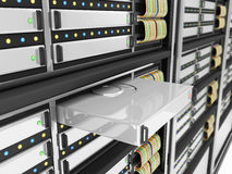 Modern Computer Servers Stock Images