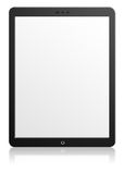 Modern computer tablet with blank screen Royalty Free Stock Image