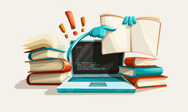 Modern computer technologies education help and answers Stock Photos