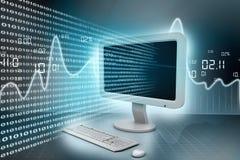 Modern computer technology Stock Photo