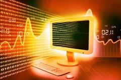 Modern computer technology Stock Photography