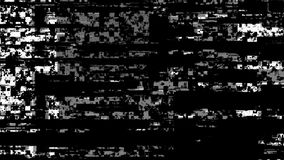 Modern computer technology failure digital databending noise glitch overlay or transition. 4K UHD stock video