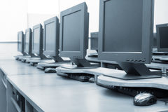 Modern computers Stock Images