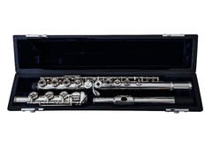 Modern Concert Flute Royalty Free Stock Photos
