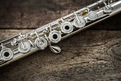 Modern Concert Flute Royalty Free Stock Photo
