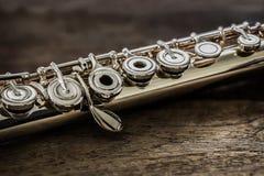 Modern Concert Flute Stock Photography