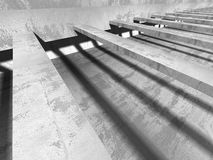 Modern concrete architecture abstract background Stock Images