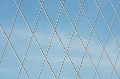Modern concrete bridge royalty free stock images