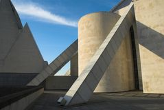 Modern Concrete Building Stock Photography
