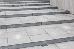 Modern concrete building - stairway composition. Photo of a modern concrete building - stairway composition Royalty Free Stock Photography