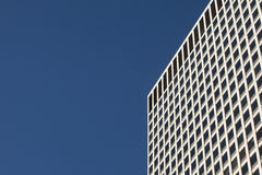 Modern concrete and glass office building Stock Image