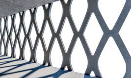 Modern concrete structure royalty free illustration