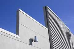 Modern Concrete Wall Royalty Free Stock Image