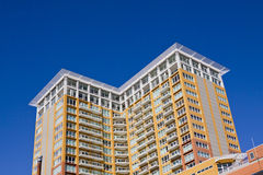 Modern Condo Building Royalty Free Stock Photos