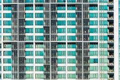 The modern condo building at Sukhumvit road in Bangkok stock image
