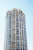 Modern Condo Tower on Blue Royalty Free Stock Photography