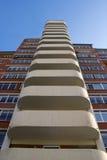 Modern Condominium. Royalty Free Stock Photos