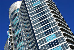 Modern condominium building Royalty Free Stock Images