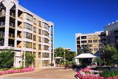 Modern condominium buildings Royalty Free Stock Photo