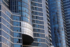 Modern condominium. Close up of a modern condominium royalty free stock images