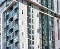 Modern condominium Stock Photography