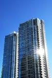 Modern condominium complex Stock Image