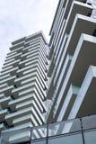Modern condominium complex Stock Images