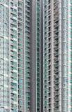 Modern condominium exterior. Texture, background Royalty Free Stock Photography