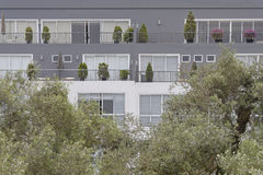 Modern condominium Royalty Free Stock Images