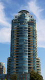 Modern condominium tower Royalty Free Stock Photos