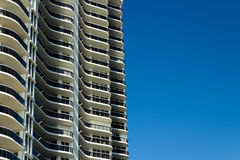 Modern condominium tower Royalty Free Stock Image