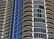 Modern condominium tower Stock Photo