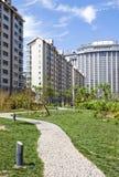 Modern Condominium Towers Stock Photo